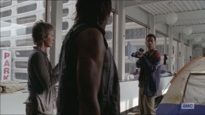 Consumed- Noah tells Daryl to put down his crossbow