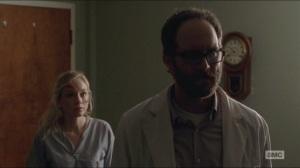 Crossed- Beth asks Steven how to best keep Carol alive