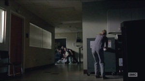 Crossed- Beth gets drugs while patient 'coughs'
