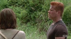 Crossed- Maggie asks Abraham if he wanted her to shoot him