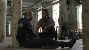 Crossed- Sergeant Bob Lamson tells Rick about how to deal with Dawn