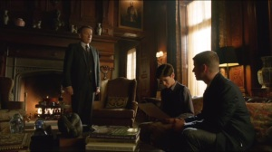 Harvey Dent- Alfred does not want Selina Kyle to stay at Wayne Manor
