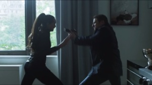 Lovecraft- Copperhead fights Gordon's stunt double