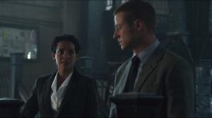 Penguin's Umbrella- Captain Essen refuses to leave Gordon's side