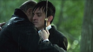 Penguin's Umbrella- Falcone and Penguin reunite