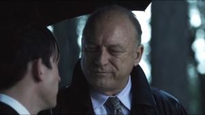 Penguin's Umbrella- Falcone is unsure about letting Gordon live