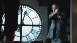 Penguin's Umbrella- Gordon enters Barbara's place and confronts Butch