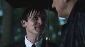 Penguin's Umbrella- Penguin tells Falcone that Gordon will soon see the light