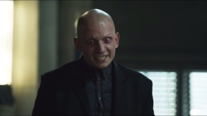 Penguin's Umbrella- Zsasz says please
