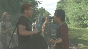 Self-Help- Glenn tries to reason with Abraham