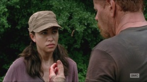 Self-Help- Rosita stops Abraham from hurting Eugene even more