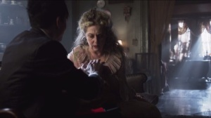 The Mask- Oswald's mother sees that his hand has been injured