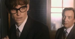The Theory of Everything- Stephen with Professor Dennis Sciama, played by David Thewlis