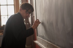 The Theory of Everything- Stephen works on his theory