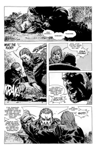 The Walking Dead #67- Abraham learns that Eugene lied