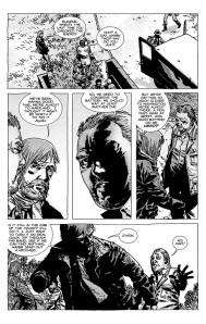 The Walking Dead #67- Rick tries to use Eugene's radio