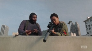 Coda- Tyreese tells Sasha not to beat herself up over Bob