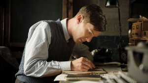 The Imitation Game- Alan hard at work