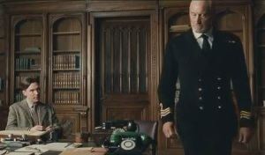 The Imitation Game- Alan meets with Commander Alastair Denniston, played by Charles Dance