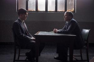 The Imitation Game- Alan Turing, played by Benedict Cumberbatch, imprisoned