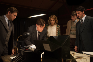 The Imitation Game- Team goes through files