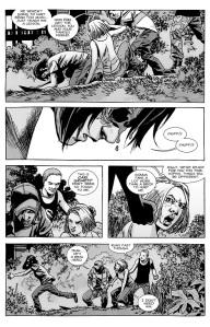 The Walking Dead #134- Carl and Sophia ambushed
