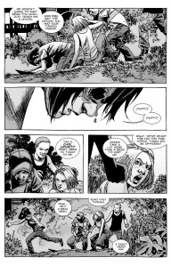 The Walking Dead #134- Carl and Sophia ambushed