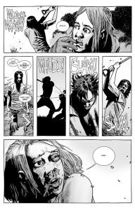 The Walking Dead #134- Carl attacks