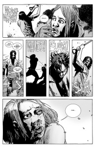 The Walking Dead #134- Carl attacks