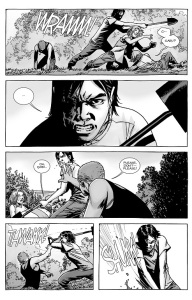 The Walking Dead #134- Carl Grimes goes to a dark place