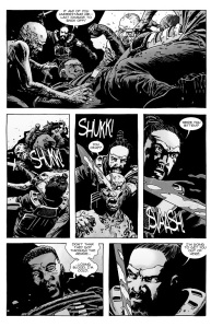 The Walking Dead #134- Jesus battles with the Whisperers