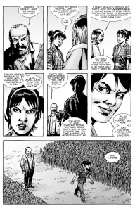 The Walking Dead #134- Maggie and Gregory discuss what to do about Dante's group