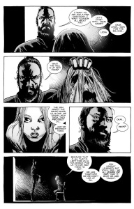 The Walking Dead #135- Jesus speaks with Lydia