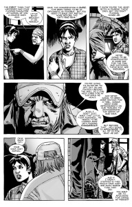 The Walking Dead #135- Maggie clashes with parents