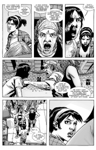 The Walking Dead #135- Parents react to Carl's actions and Maggie is blamed