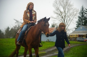 Wild- Bobbi and Cheryl with their horse