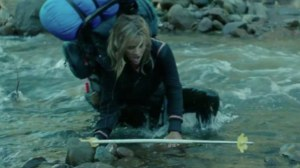 Wild- Cheryl in the water