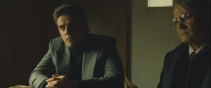 A Most Violent Year- Abel and his lawyer, Andrew Walsh, played by Albert Brooks