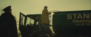 A Most Violent Year- Abel checks the tank