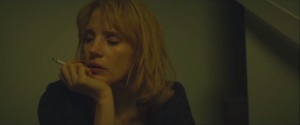 A Most Violent Year- Anna smokes