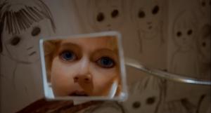 Big Eyes- Margaret sees herself with the big eyes