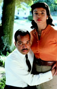 Boycott- Jeffrey Wright and Carmen Ejogo as Martin and Coretta Scott King