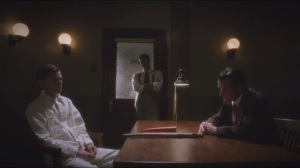 Bridge and Tunnel- Dooley and Thompson in interrogation with Van Ert