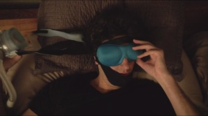 Entropy is Contagious- Clyde's sleeping mask