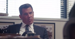 Inhereht Vice- Lt. Det. Christian F. Bigfoot Bjornsen, played by Josh Brolin