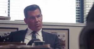 Inhereht Vice- Lt. Det. Christian F. Bigfoot Bjornsen, played by Josh Brolin