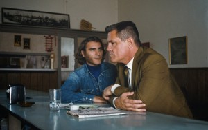Inherent Vice- Doc and Bigfoot at the diner