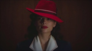 Now is Not the End- Agent Peggy Carter in a red hat