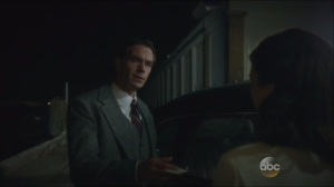 Now is Not the End- Edwin Jarvis, played by James D'Arcy, formally introduces himself to Peggy