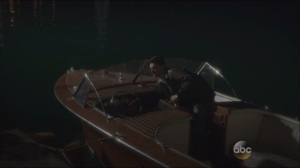 Now is Not the End- Howard Stark on a boat
